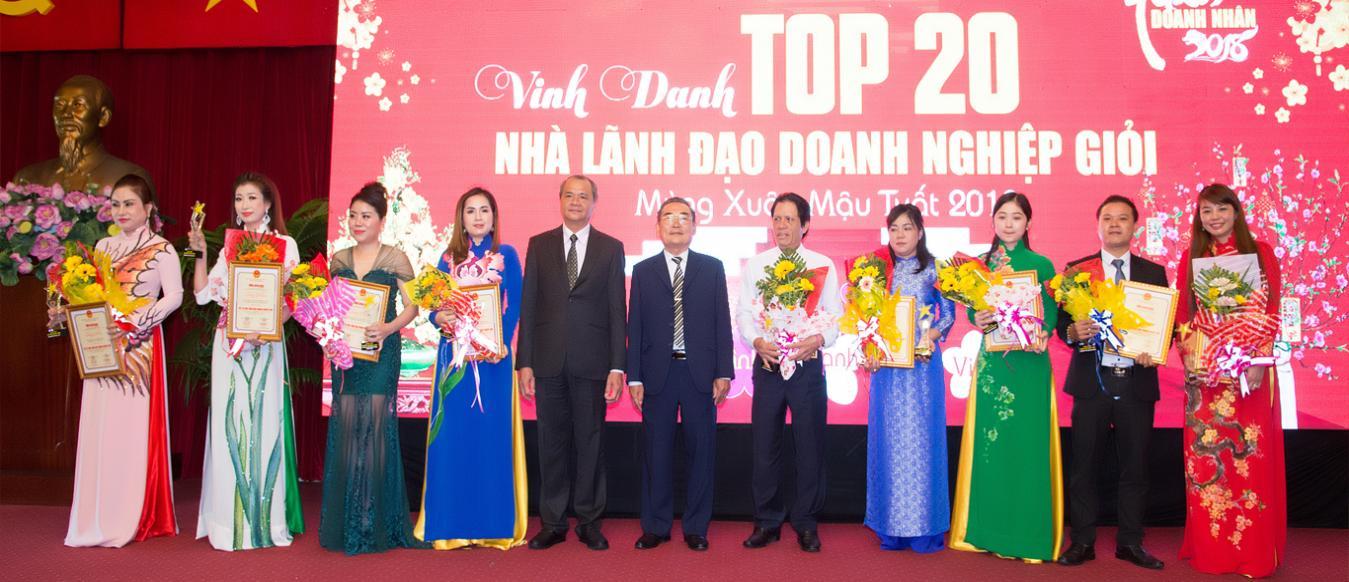 Đón nhận danh hiệu Top 20 Doanh nghiệp có chất lượng dịch vụ tốt nhất khu vực phía Nam và Top Doanh