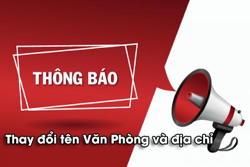 Thông báo thay đổi địa chỉ Văn Phòng Bắc Sài Gòn.